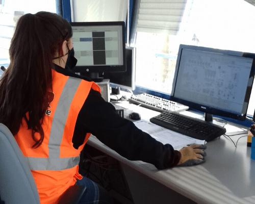poste pilotage centrale enrobe | AGIR Labo