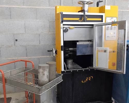 rectifieuse eprouvette beton | AGIR Labo